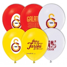 Galatasaray Basklı Latex Balon (100 adet)