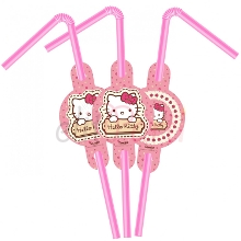 Hello Kitty Pipet (6 Adet)