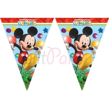 Mickey Club House Flama Bayrak (300 x 29 cm)