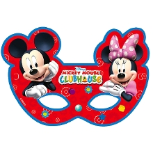 Mickey Club House Maske (6 Adet)
