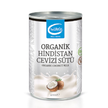 The LifeCo Organik Hindistan Cevizi Sütü (400 ml)